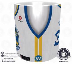 Caneca Golden State Warriors - Camisa 2018 Home - Porcelana 325 ml 2