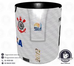 Caneca Corinthians - Camisa 2012 Mundial - Porcelana 325 ml 2