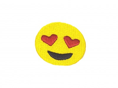 Patch Emoji Love