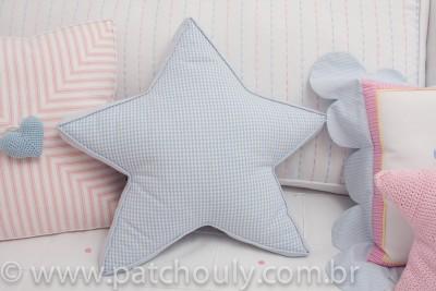Quarto Casinha - Almofada Estrela Grande