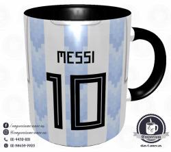 Caneca Argentina - Camisa Copa do Mundo 2018 - Porcelana 325 ml 3