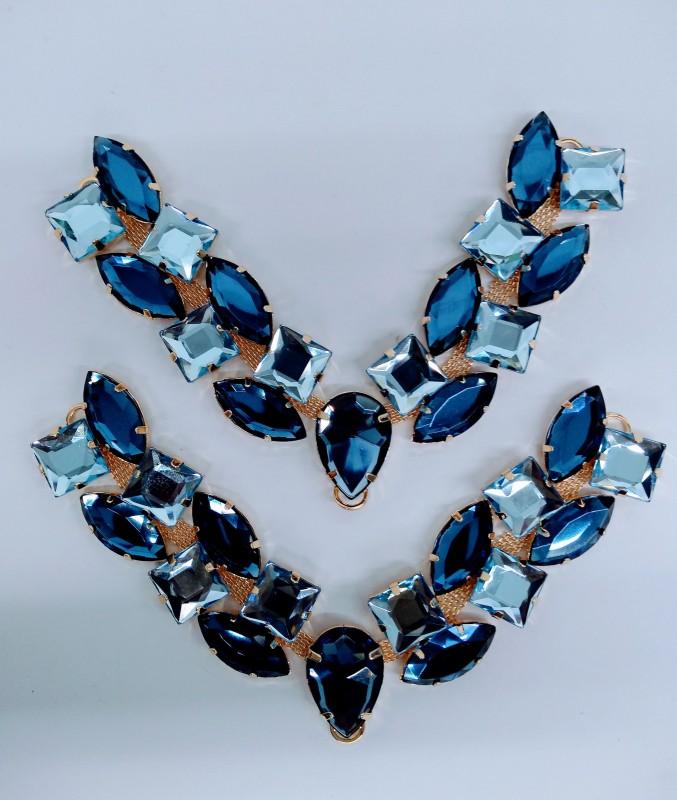 Cabedal Yohana Azul