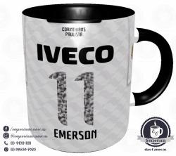 Caneca Corinthians - Camisa 2012 Libertadores - Porcelana 325 ml 3