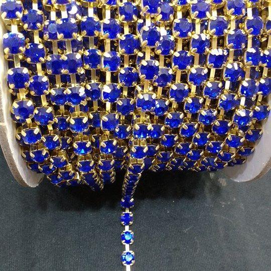 Strass Azul Royal 28 - S. M 331