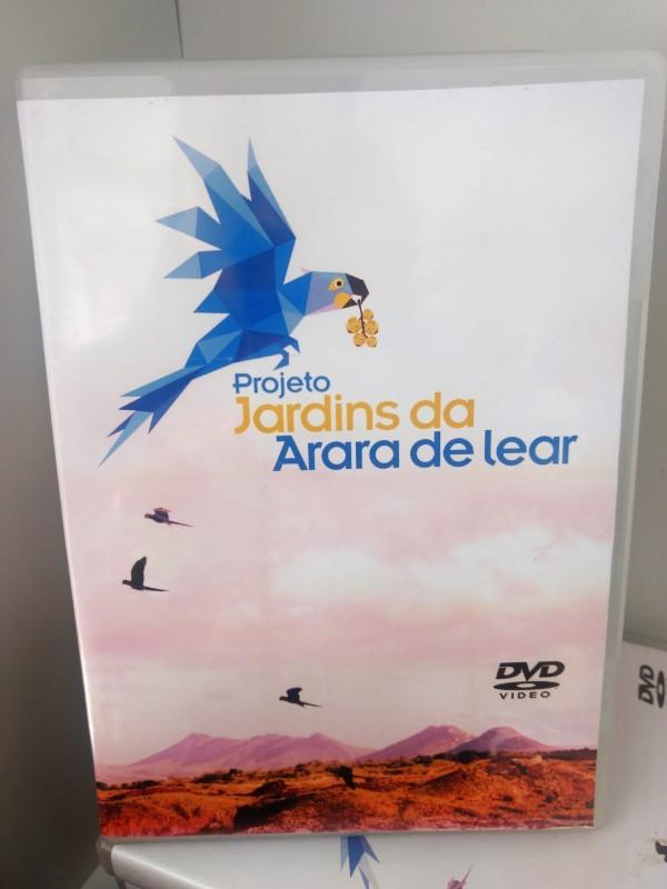 DVD PROJETO JARDINS DA ARARA DE LEAR