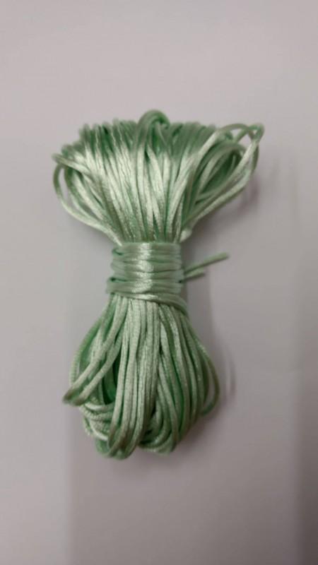 Fio de Seda Verde Lago