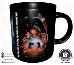 Caneca Clássicos do Cinema - Star Wars (Trilogia Prequela) - Porcelana 325 ml 3