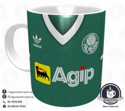 Caneca Palmeiras - Camisa 1988 - Porcelana 325 ml 1