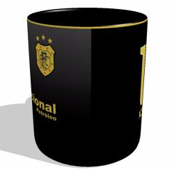 Caneca Americano-RJ - Camisa 2017 Third - Porcelana 325 ml 2