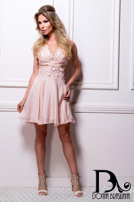 Vestido Renda ROSÉ