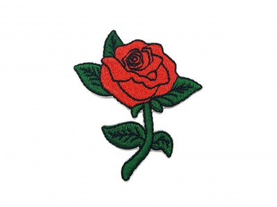 Patch Rosa Vermelha