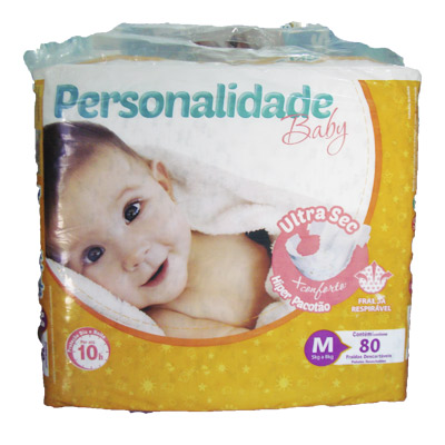Fralda personalidade baby