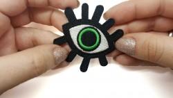 Patch Olho Verde 3