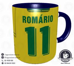 Caneca Seleção Brasileira - Camisa 1994 (Tetracampeão Mundial) - Porcelana 325 ml 3