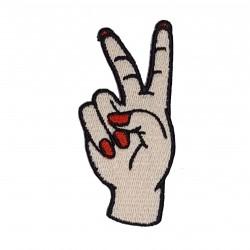 Patch Mão Paz e Amor 2