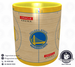 Caneca Golden State Warriors - Oracle Arena - Porcelana 325 ml 2