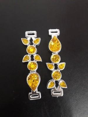 Gota ABS Prata/Amarelo