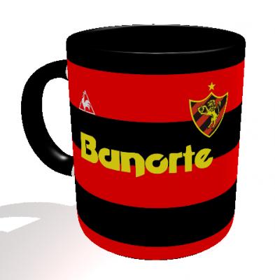 Caneca Sport - Camisa 1987 Campeão Brasileiro - Porcelana 325 ml