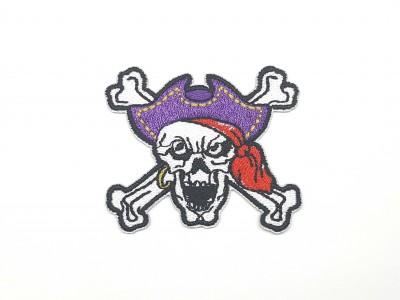 Patch Caveira Pirata