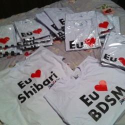 Camiseta 'Eu Amo...' 1