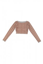 BIQUINI TOP CROPPED TRIBAL NUDE 1