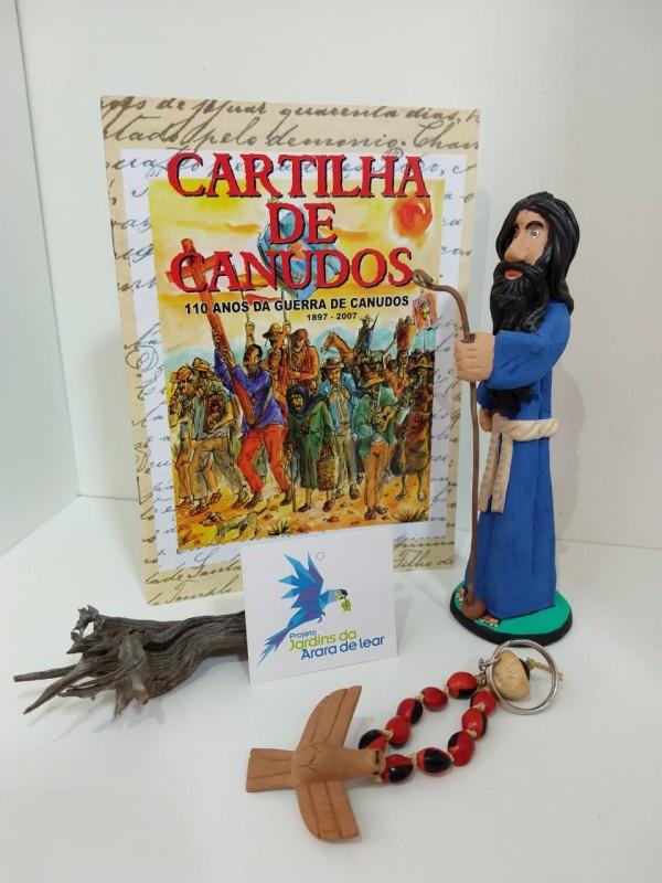 KIT CARTILHA DE CANUDOS, ANTONIO CONSELHEIRO E TERÇO .