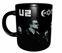 Caneca Bandas Clássicas - U2 (Coexist) - Porcelana 325 ml 1