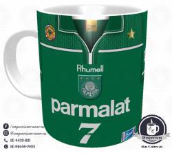 Caneca Palmeiras - Camisa 1999 Libertadores - Porcelana 325 ml 1