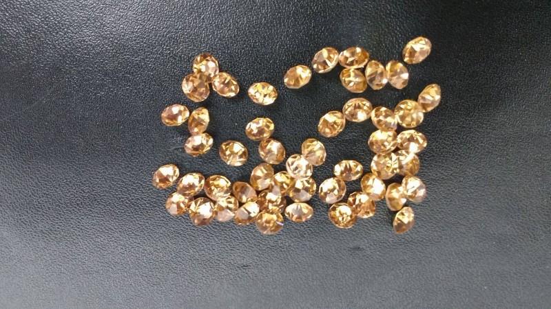 Ponto de Luz Resina 50 Unidades Dourado