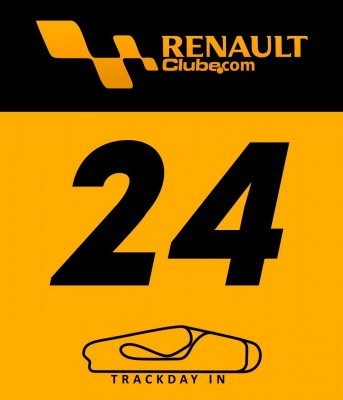 Inscrição para o TRACKDAY RENAULT CLUB, parte da manhã ou parte da tarde!