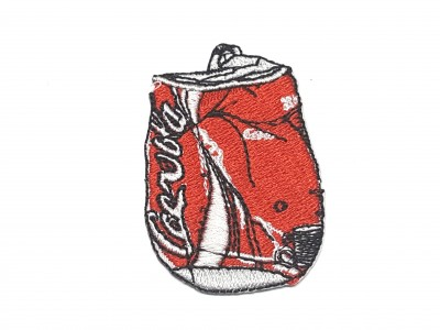 Patch Coca-Cola Amassada