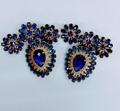 Cabedal Maravigold Hungria Azul Royal