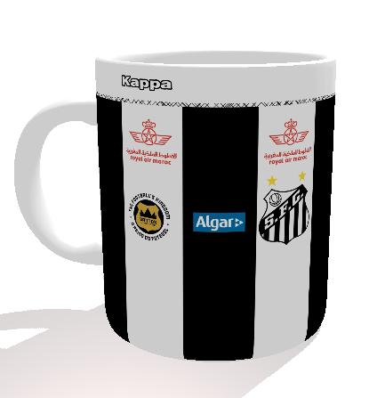 Caneca Santos - Camisa 2016 - Porcelana 325 ml