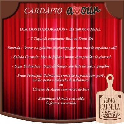 Jantar Amour - 12 de Junho