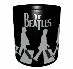 Caneca Bandas Clássicas - The Beatles - Porcelana 325 ml 2