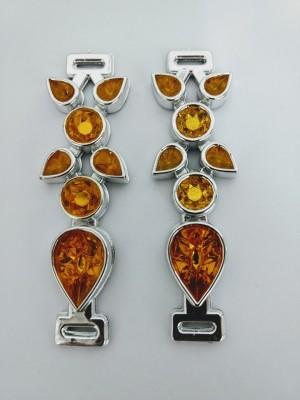 Gota ABS Prata/Dourado