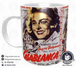 Caneca Clássicos do Cinema - Casablanca - Porcelana 325 ml 1