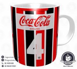 Caneca São Paulo FC - Camisa 1989 Listrada - Porcelana 325 ml 3