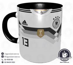 Caneca Alemanha - Camisa Copa do Mundo 2018 - Porcelana 325 ml 1