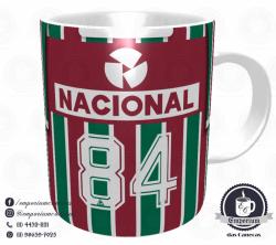 Caneca Fluminense - Camisa 1984 - Campeão Brasileiro - Porcelana 325 ml 3