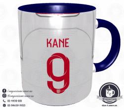 Caneca Inglaterra - Camisa Copa do Mundo 2018 - Porcelana 325 ml 3