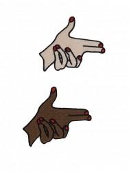 """Patch Mão """"Armada"""" 3"""