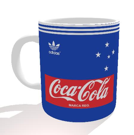 Caneca Cruzeiro - Camisa 1989 - Porcelana 325 ml