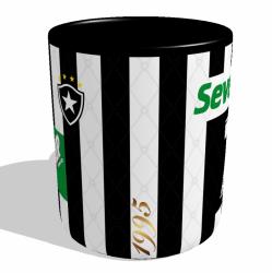 Caneca Botafogo - Camisa 1995 Brasileirão - Porcelana 325 ml 2