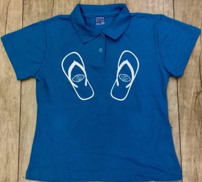 Camiseta Polo Azul G