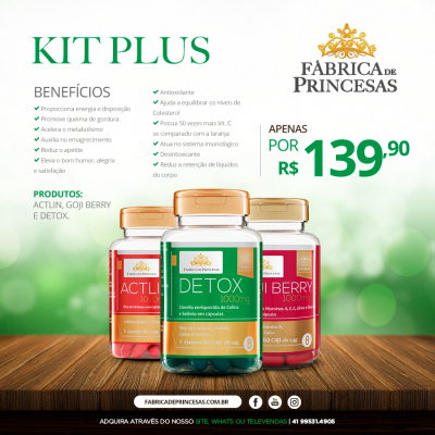 KIT PLUS - EMAGRECIMENTO