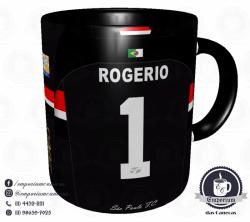 Caneca São Paulo FC - Camisa 2005 Rogério Ceni Tri-Mundial - Porcelana 325 ml 3