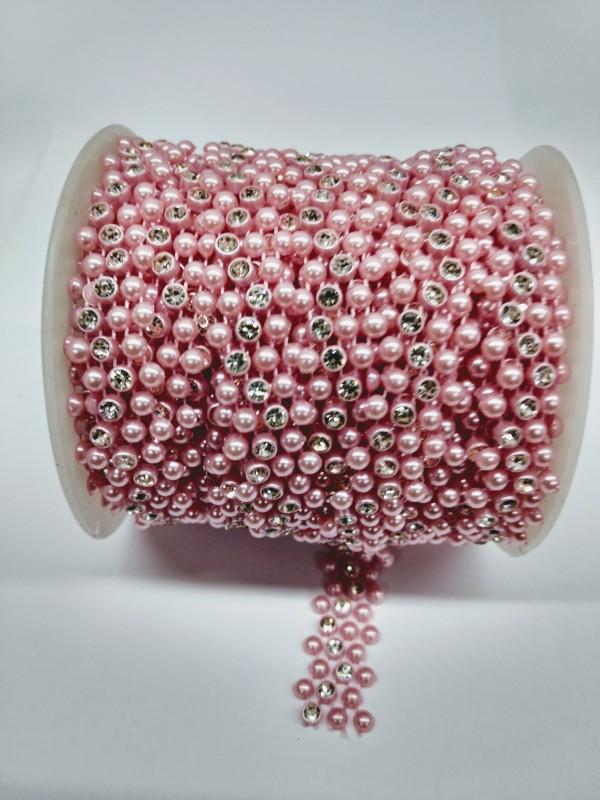 Rolo Pedra Magica Rosa Bebe