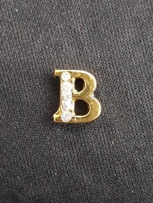 Letra B Dourada