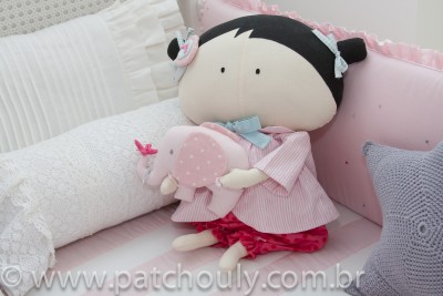 Boneca Tilda Toy menina G
